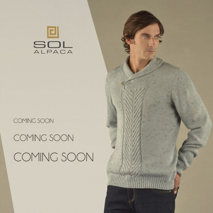 Few days separate us from the launching of our Sol Alpaca's Autumn/Winter 2016-2017 collection! The details, prints and colours used in the garments for this collection will make men stand out from the crowd. Stay tuned! Soon available Sol Alpaca's online store! #SolAlpaca #collection #alpaca #menwear #fashion