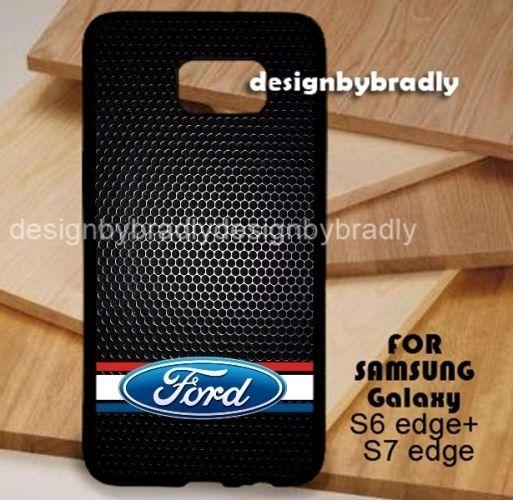 Ford Logo Black Grill Samsung Galaxy S3 S4 S5 S6 S7 S8 Edge Plus Case #UnbrandedGeneric