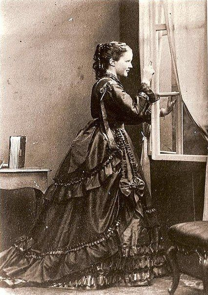 Queen Elisaveta of Romania // Artistic pseudonym Carmen Sylva // Née Princesss of Wied // 1870s.