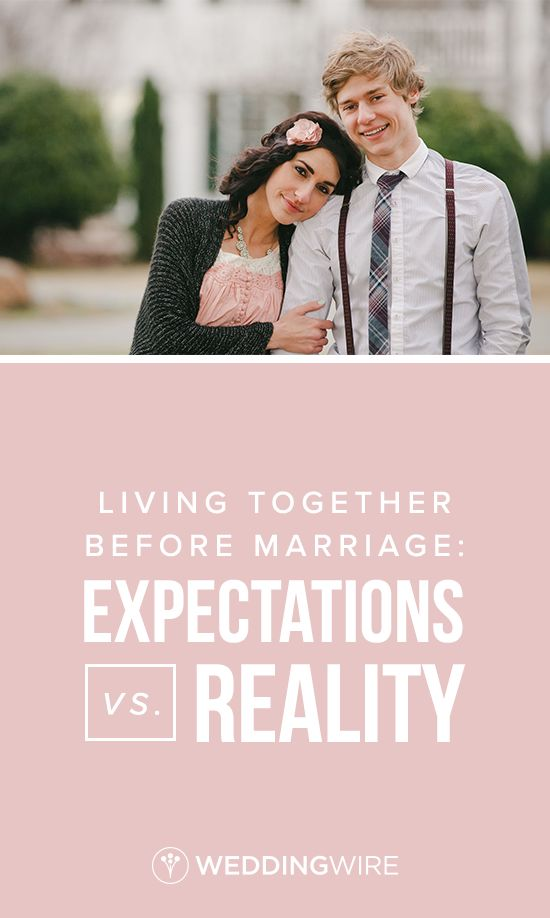 722 best wedding etiquette advice images on pinterest living together before marriage expectations vs reality junglespirit Gallery