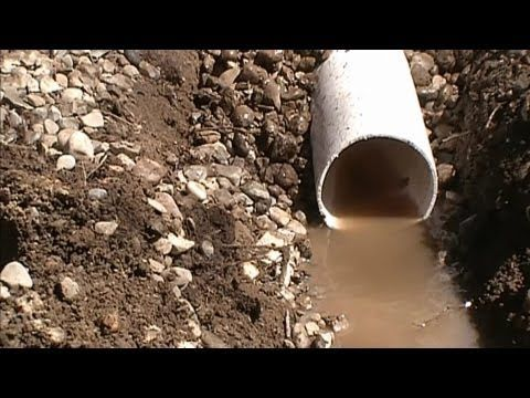 4 Common Rainwater Drainage Problems and How To Solve Them, Apple Drains, Charlotte NC - YouTube
