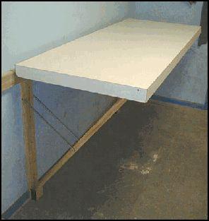 Fold down workbench plans