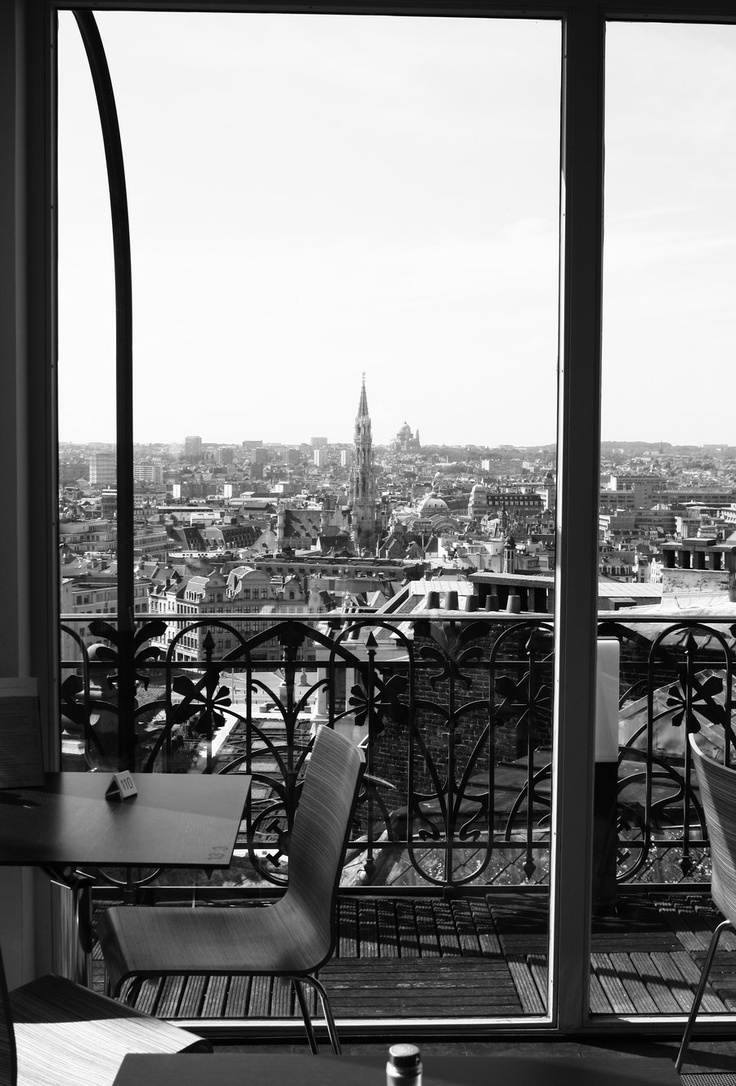Resto on top of the mim @ Brussels