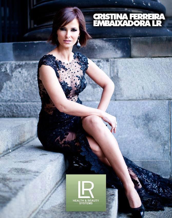 A conhecida apresentadora da TVI Cristina Ferreira, tornou-se na embaixadora LR.