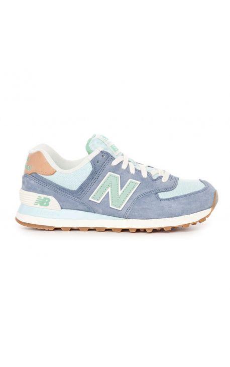 Chaussure New Balance 574 crater - basket chaussure femme bleu sneakers New…
