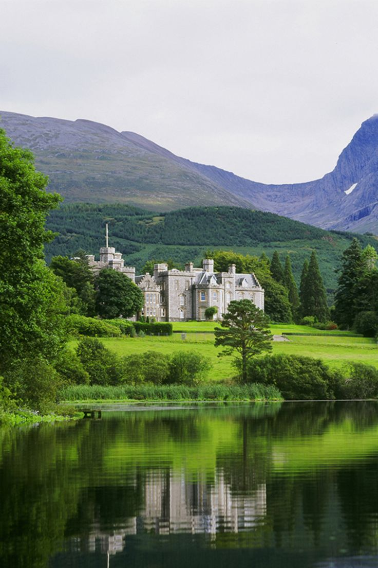 Inverlochy Castle. I can't believe I was lucky enough to stay here!