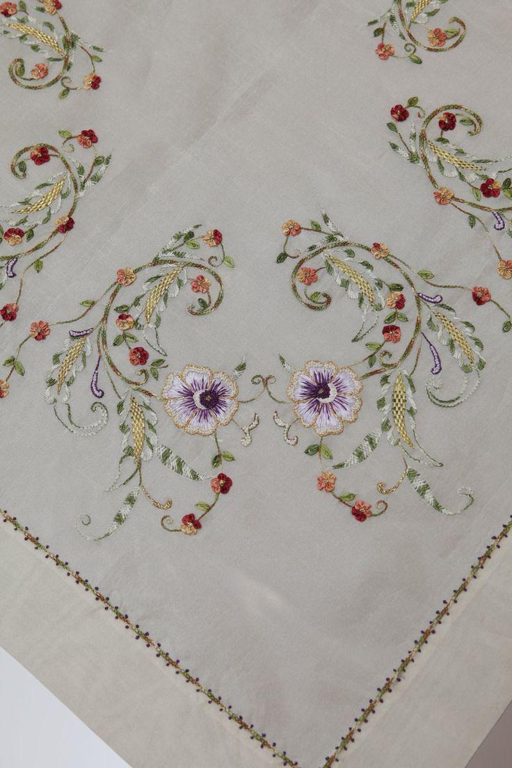 Ribbon embroidery bedspread designs - 1800120_719359804783590_5163354920508649556_o Jpg 1365 2048 Ribbon Embroideryhand Embroidery Stitcheshand Embroidery Designsembroidery