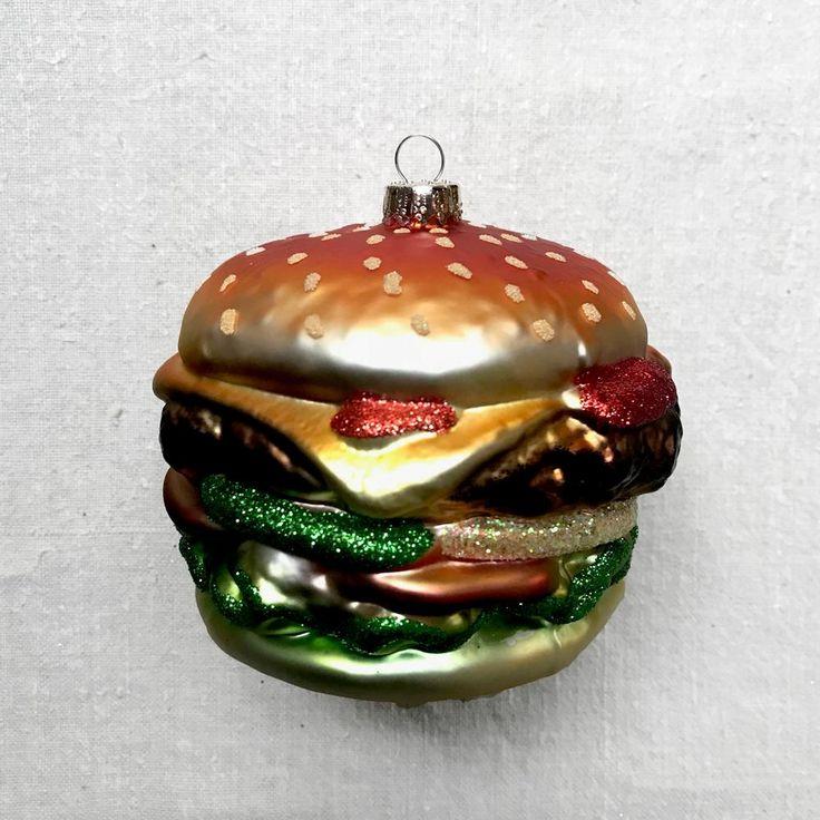 Hamburger Ornament — John Derian Company Inc (With images ...