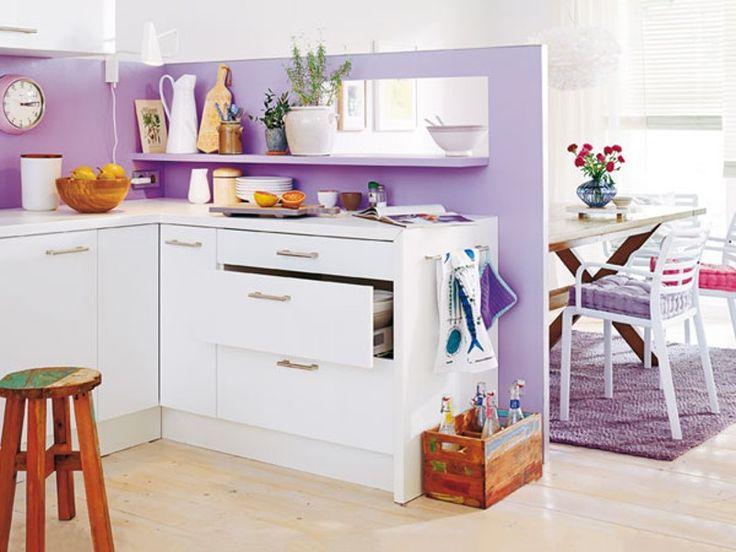 oltre 25 fantastiche idee su durchreiche k che gestalten. Black Bedroom Furniture Sets. Home Design Ideas