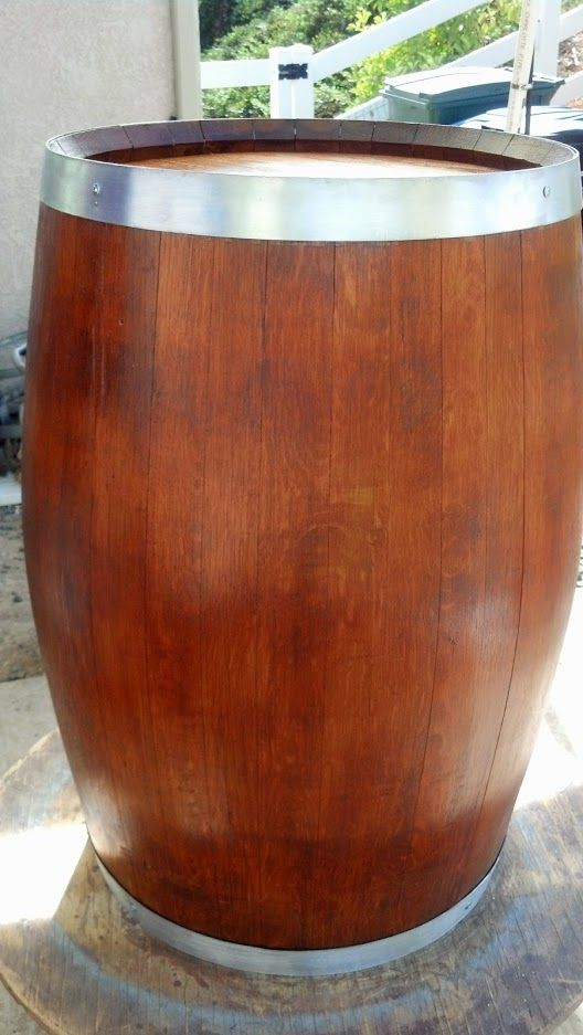 How To Make A Decorative Wine Barrel  backyard ideas