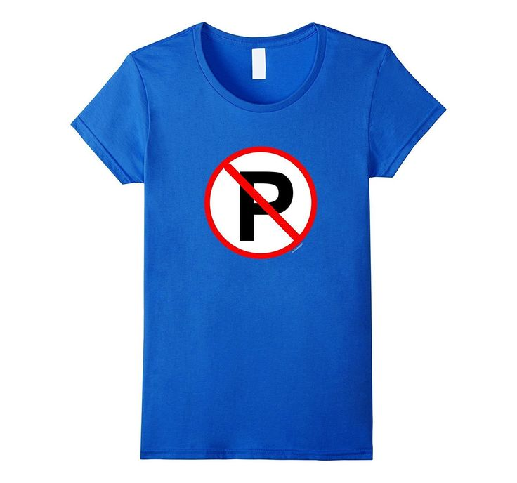 No Parking Any Time Euro Sign T-shirt