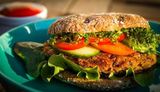Azuki Bohnen Burger
