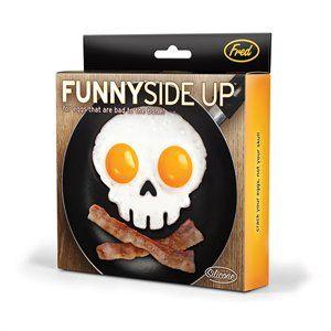 Funny Side Up - Skull