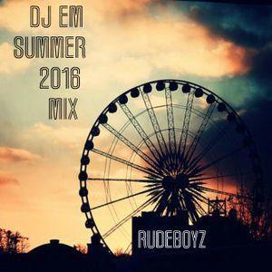 DJ EM – WHAT YOU LIKE (SUMMER MIX)(2016)(RUDEBOYZ)  Tracklist: 1.Silentó – Watch Me (Whip/Nae Nae)(Remix) 2.Pink – Just Like Fire 3 Nicki Minaj – High School (feat Lil Wayne) 4.Tori Kelly – Should've Been Us 5.Charli XCX – Boom Clap 6.Jason Derulo – Trumpets 7.Jamie Xx & Young Thug & Popcaan – I Know There's Gonna Be (DJ Em Rework)(90Bpm)  #Beyoncé #DjEm #DjSnake #Drake #FatJoe #FettyWap #JasonDerulo #Mixtape #OinkNickiMinaj #Rihanna #Rudeboyz
