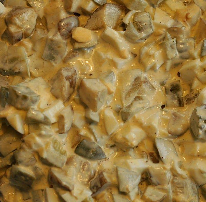 Sałatka z grzybkami
