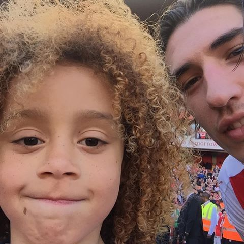 Max and Hector Bellerin #Arsenal #WeAreTheArsenal  #COYG  #PremierLeague >>May 21, 2017