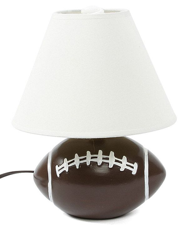 26 best sports lamps images on pinterest football rooms room football table lamp by dennis east international zulilyfinds mozeypictures Images