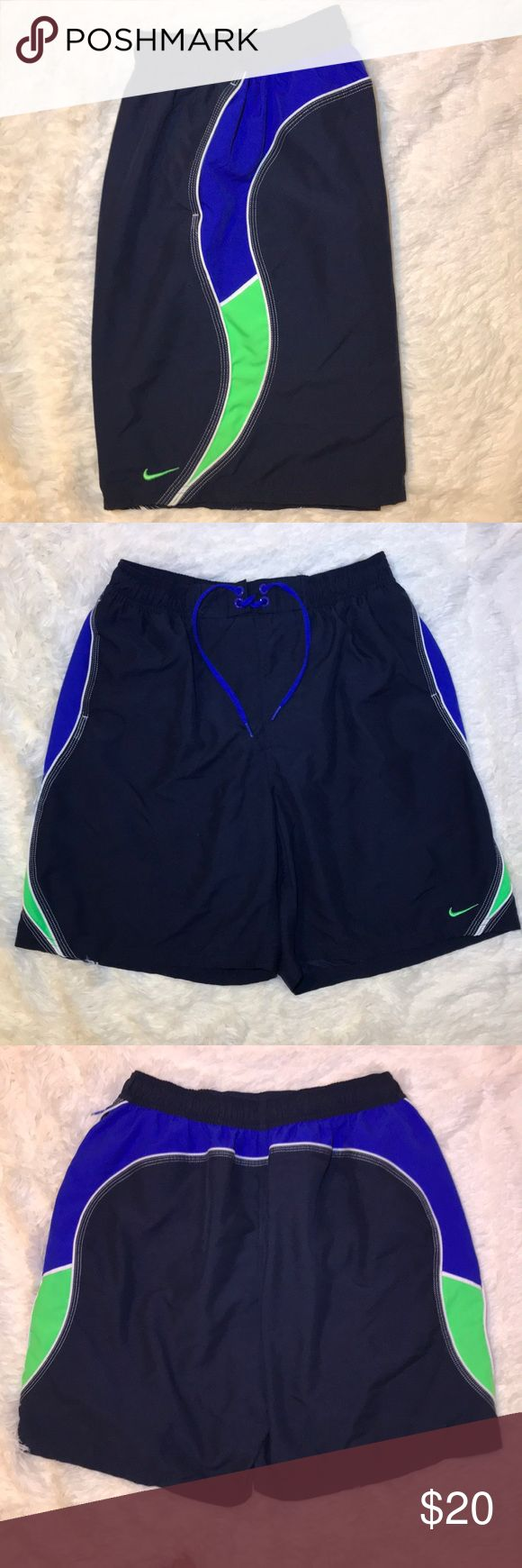 Nike swim shorts Excellent condition! No piling. Pockets on the sides. Nike Swim Swim Trunks