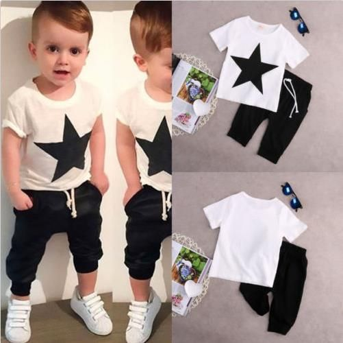 Tops Harem Pants  New Kids Baby Boys Star T-shirt Tops Harem Pants Outfits Clothes 2Pcs Set 2-7Y  $15.99free shipping  You save27%off the regular price of$22.00  Fashion design CuteSize:90 100 110 120 130Color :As the picture showMaterial:CottonThis cute outfits is super value!With it's cute unique fashion designit will be perfect for summer daytime leisureShipping to: WorldwideExcludes: Africa South America Albania Bosnia and Herzegovina Estonia Latvia Ukraine Anguilla Antigua and Barbuda…