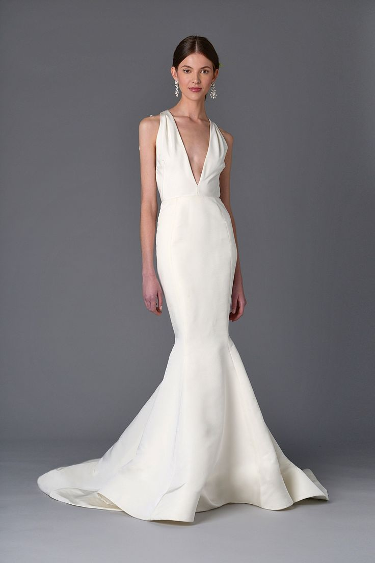 White lace texture bridal layered ruffled - Mermaid Style Wedding Dress From Marchesa Bridal Collection Spring 2017 Wedding Dresses