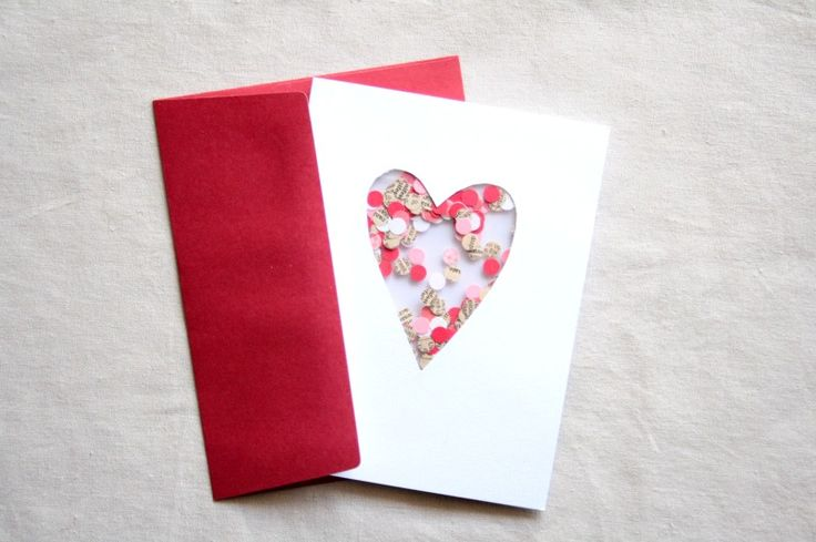 It could be a box with little hearts like this with a heart shape in glass paint cut-out... the little paper hearts inside have cute things written in them or things I love about the person