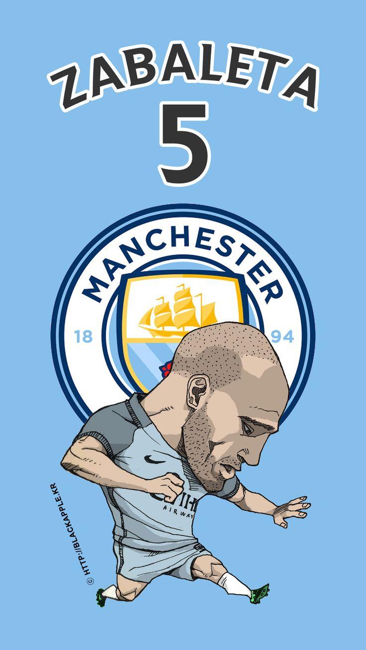 Manchester City No.5 Pablo Zabaleta Fan Art