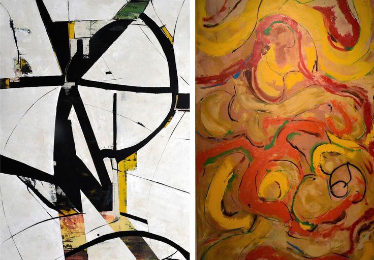 Max KALINOWSKI--painter. #uxbridgestudiotour