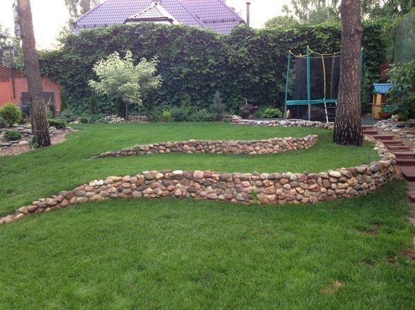 Дизайн проблемного участка: склон | Дачный сад и огород