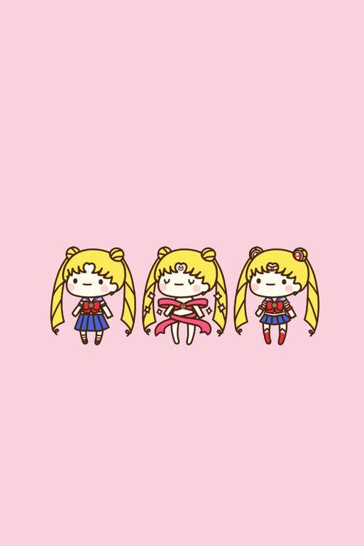 cute Sailor Moon <3 nunca me gustó sailor moon, yo veía dragon ball, pero está lindo el dibujito...