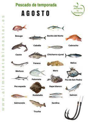 Pescado de temporada en agosto