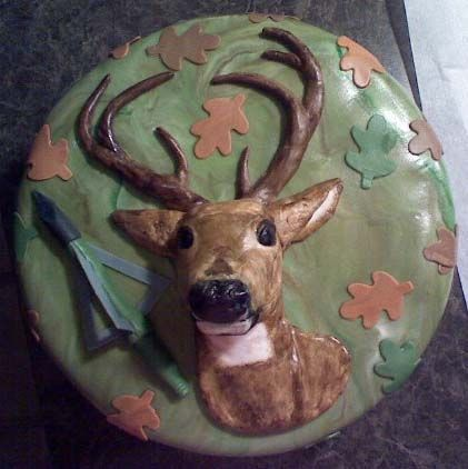 Deer Hunting - A deer hunting cake for a friend