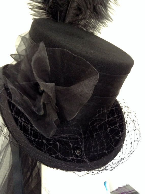 Neo Victorian riding hat The Lady Merrydeath