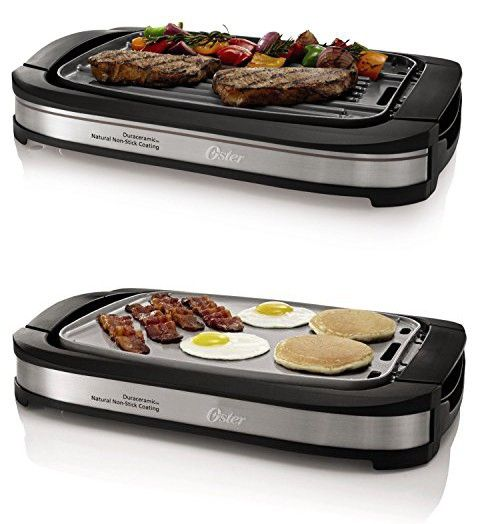 Brand New Griddle Grill warming tray nonstick reversible electric countertop