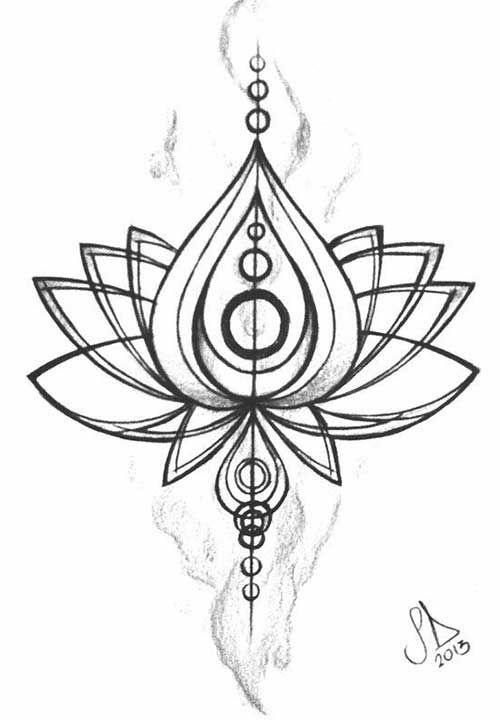 Line Art Tattoo Designs : Geometric line art tattoos google search maybe one day