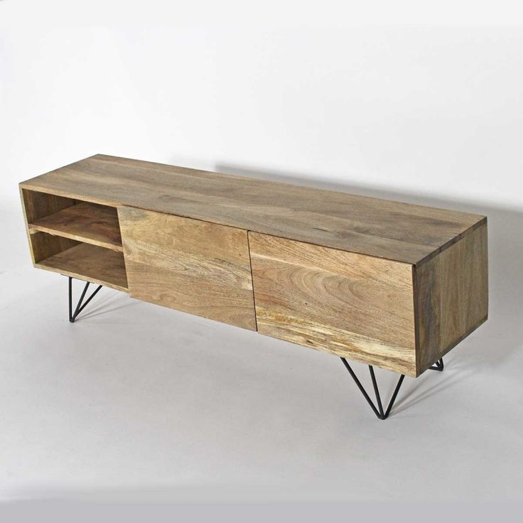 best 25 meuble tv bois massif ideas on pinterest meuble tv en bois massif meuble tv bois and