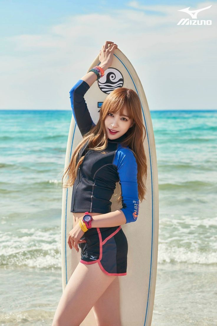EXID - HaNi #하니 (Ahn HeeYeon 안희연) for Mizuno Sports S/S 2015 150606 #이엑스아이디 #미즈노