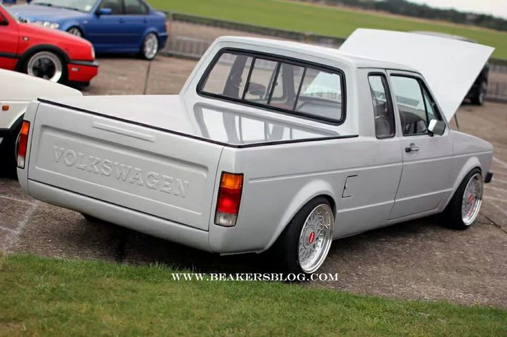 low vw pickup vw caddy pick up pinterest cabin. Black Bedroom Furniture Sets. Home Design Ideas