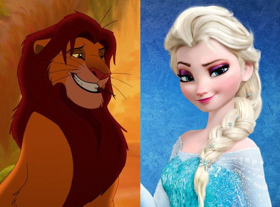 Frozen and The Lion King Might Actually Be the Same Movie, and Here's the Proof   E! Online Mobile