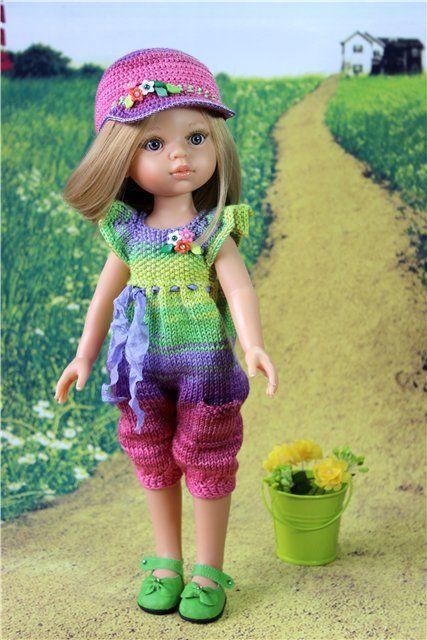 Комплект для куколки от Paola Reina. Комбинезончик. / Одежда для кукол / Шопик. Продать купить куклу / Бэйбики. Куклы фото. Одежда для кукол