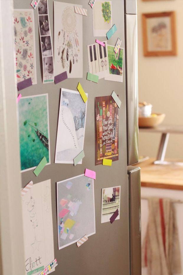 AIMANTS MASKING TAPE  http://fraise-basilic.com/diy-aimants-masking-tape/