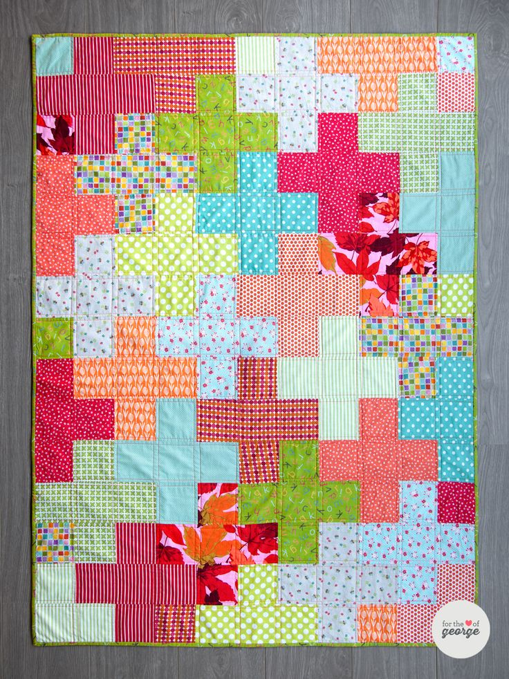 Plus Quilt Free Tutorial