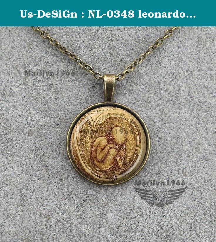Us-DeSiGn : NL-0348 leonardo da vinci necklace pregnancy fetus pendant doctor midwife gift for mom. Us-DeSiGn : NL-0348 leonardo da vinci necklace pregnancy fetus pendant doctor midwife gift for mom.