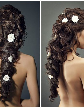 Stylish bridal braids - Bridal hairstyle photos - Photo Forum Online - Upload your photos or download thousands of free photos