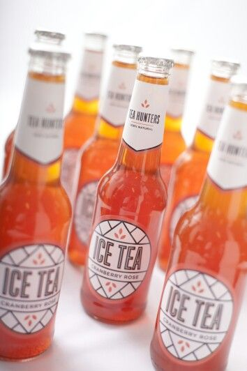 Embrace comfort with Cranberry Rose 100% natural craft ice tea, bottled in glass :)