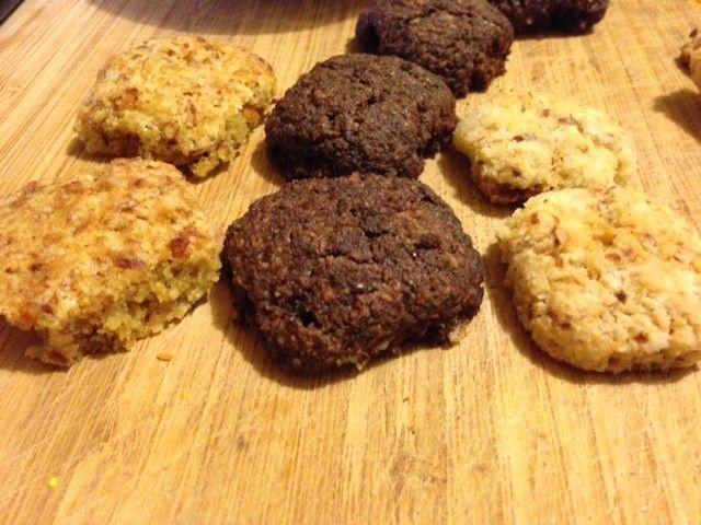 Okaretti senza glutine per tutti i gusti: al cacao, all'arancia, al cocco, con scaglie di cioccolato, ai cereali (con muesli), alla carruba (Veganblog.it)