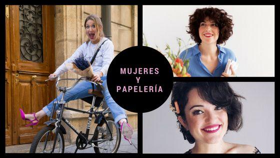 Mujeres y papelería bonita: Charuca, Lucía Be e Inés de The flower journal