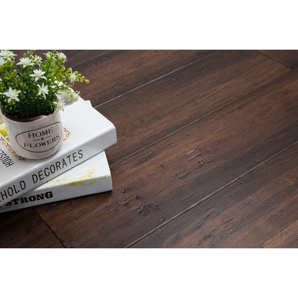 An Engineered Line Of Bamboo Flooring Made With Extremely Hard, Strand  Woven Bamboo.