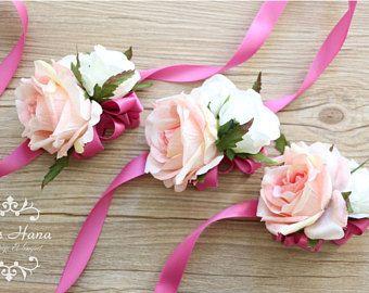 Afbeeldingsresultaat voor pols corsage bruiloft