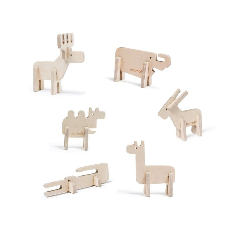 Momoll Enzo Wooden Animals