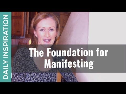 The Foundation for Manifesting - ❤ SUBSCRIBE ❤ http://www.youtube.com/subscription_center?add_user=pinchmelivingdotcom)    Here's 1 simple tip for manifesting great outcomes in your life. No matter what you want, no matter what approach you use - this one thing is a MUST!